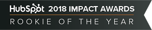 Hubspot ImpactAwards 2018 Rookie Of The Year