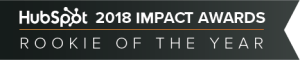 Hubspot Impact Awards 2018 Rookie Of The Year