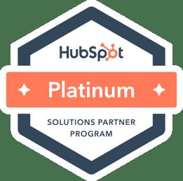 platinum badge color HubSpot
