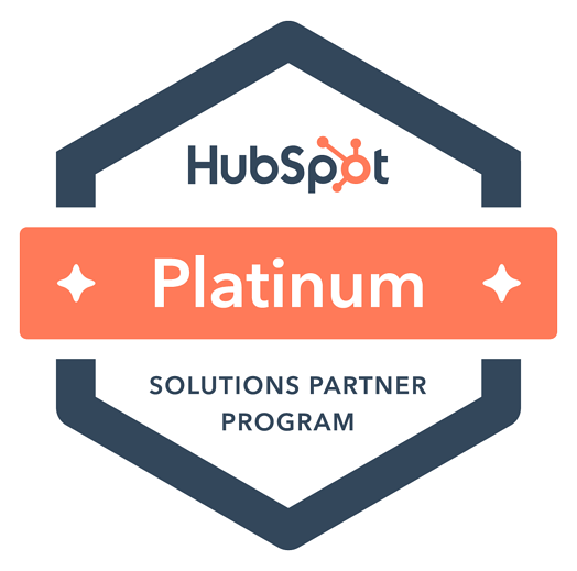 platinum badge color HubSpot